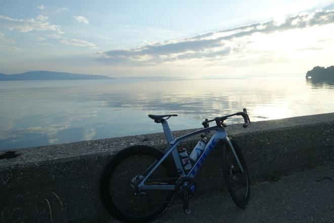 夏場のライドはしっかり対策を。Madone(マドン)で能登島サイクリング。