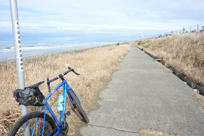 能登海浜自転車道ってどんなとこ?グラベル仕様のシクロクロスでサイクリング