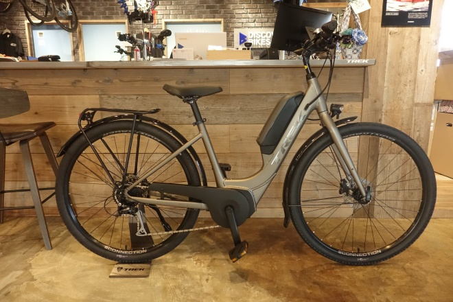TREKのE-Bike、E-MTBの電動アシスト性能を乗り比べできます!